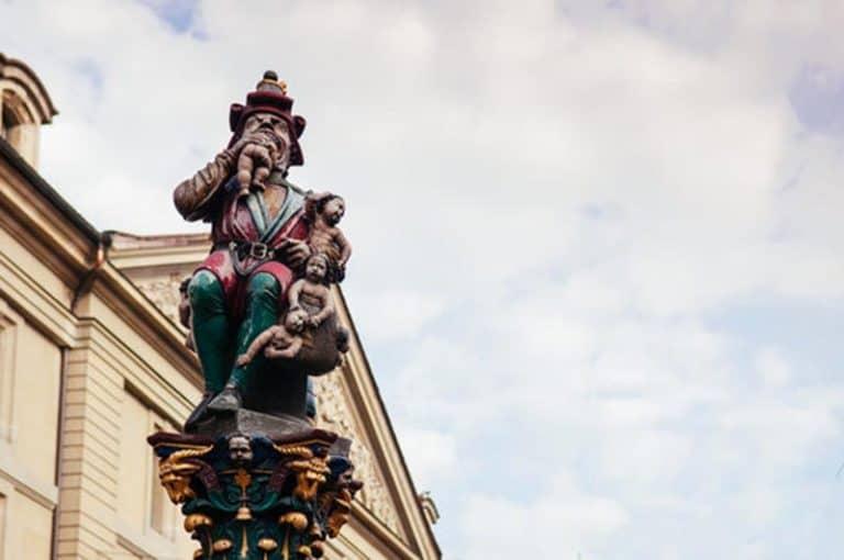 Escultura de Berna, Kindlifresserbrunnen