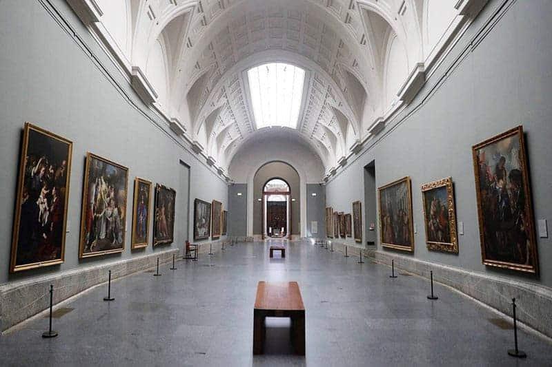 Galería del Museo del Prado