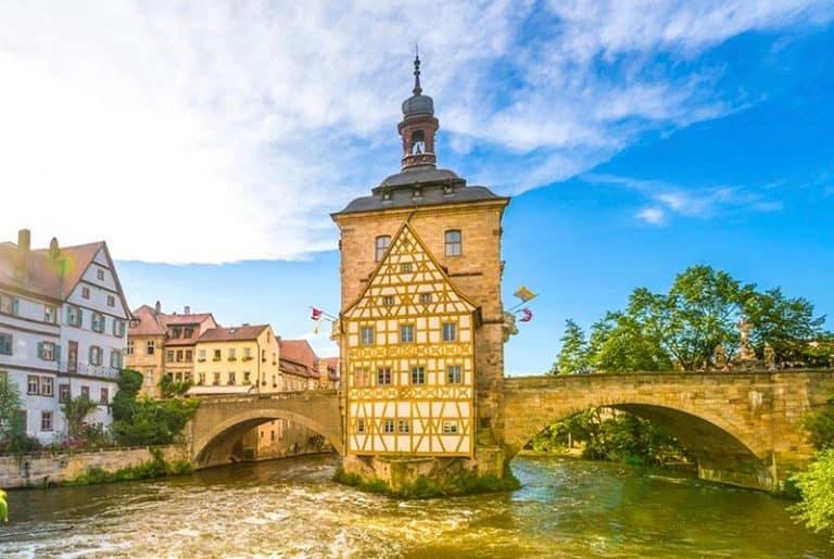 Ciudad de Bamberg en Alemania