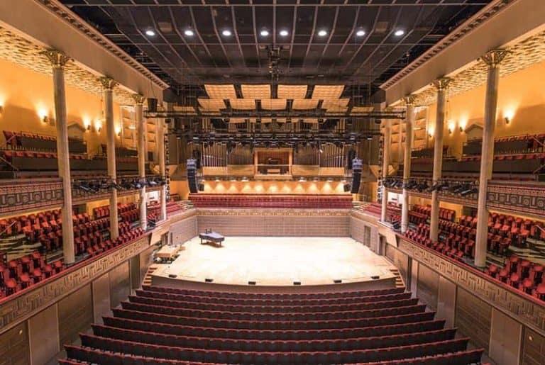 El Konserthuset, la sala de conciertos de Estocolmo