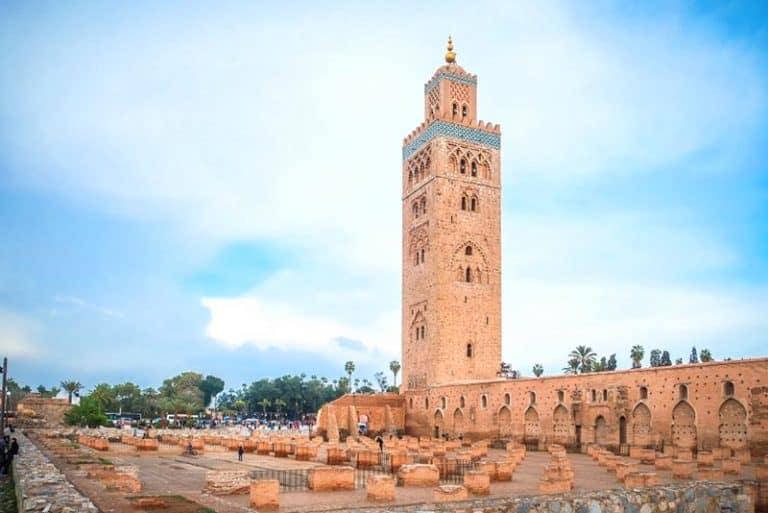 Mezquita de koutoubia en Marrakech