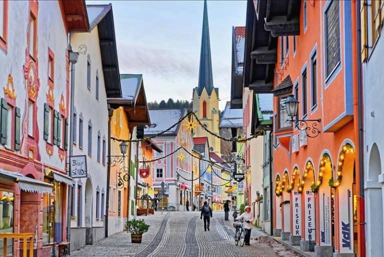 Pueblo de Garmisch-Partenkirchen