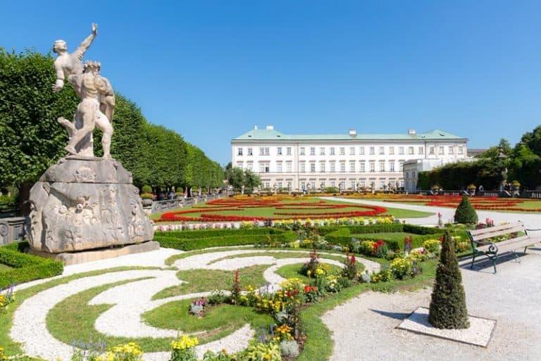 Qué ver en Salzburgo, Jardines de Mirabell