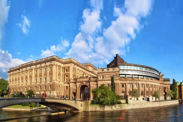 Visitar gratis el Riksdagshuset parlamento estocolomo