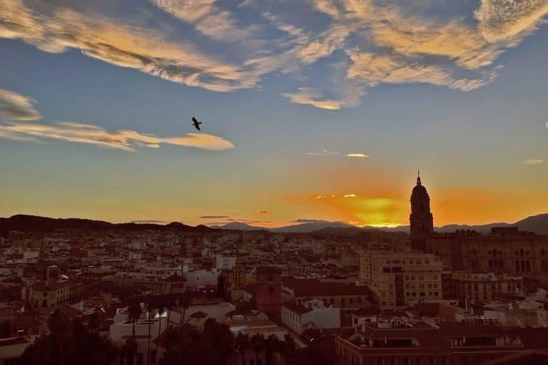 Tour de Málaga al atardecer