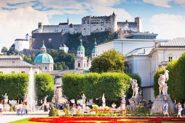 Palacio y Jardín de Mirabell en Salzburgo - ¿Qué ver en Salzburgo
